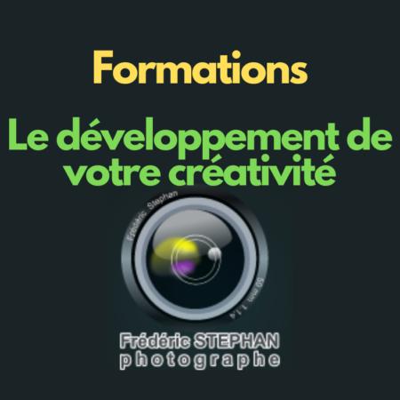 Formation - Le développement de votre créativité